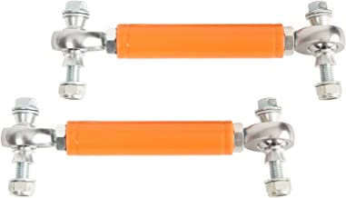 American Star 4130 Chromoly Rear Sway Bar Links (Orange) Polaris RZR XP 1000, 4 XP 1000, XP Turbo