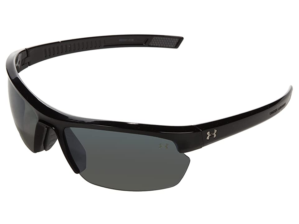 15bdd84aa0 ... UPC 845372019430 product image for Under Armour UA Stride XL Polarized  (Shiny Black Gray