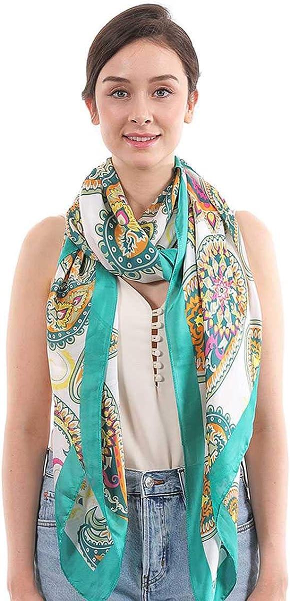 Shop & Buy Fashion Paisley Pattern Silky Scarf