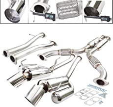 Fit 2003-2007 Infinti G35 /350z (2-Door Coupe Only) 2.5 Inch Stainless Steel Catback Exhaust System 3.75 Inch Muffler Tip