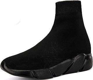 NEWCOLOR Unisex Scarpe da Ginnastica da Passeggio con Taglio Alto Scarpe Paio Fannullone Comfort Sneakers da Ginnastica in...