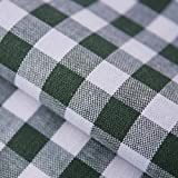 Hans-Textil-Shop Stoff Meterware Vichy Karo 1x1 cm