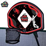JumpTastic Trampoline Basketball Set/Universal Basketball Hoop/with Pump and Rubber Ball/Next Day Shipping