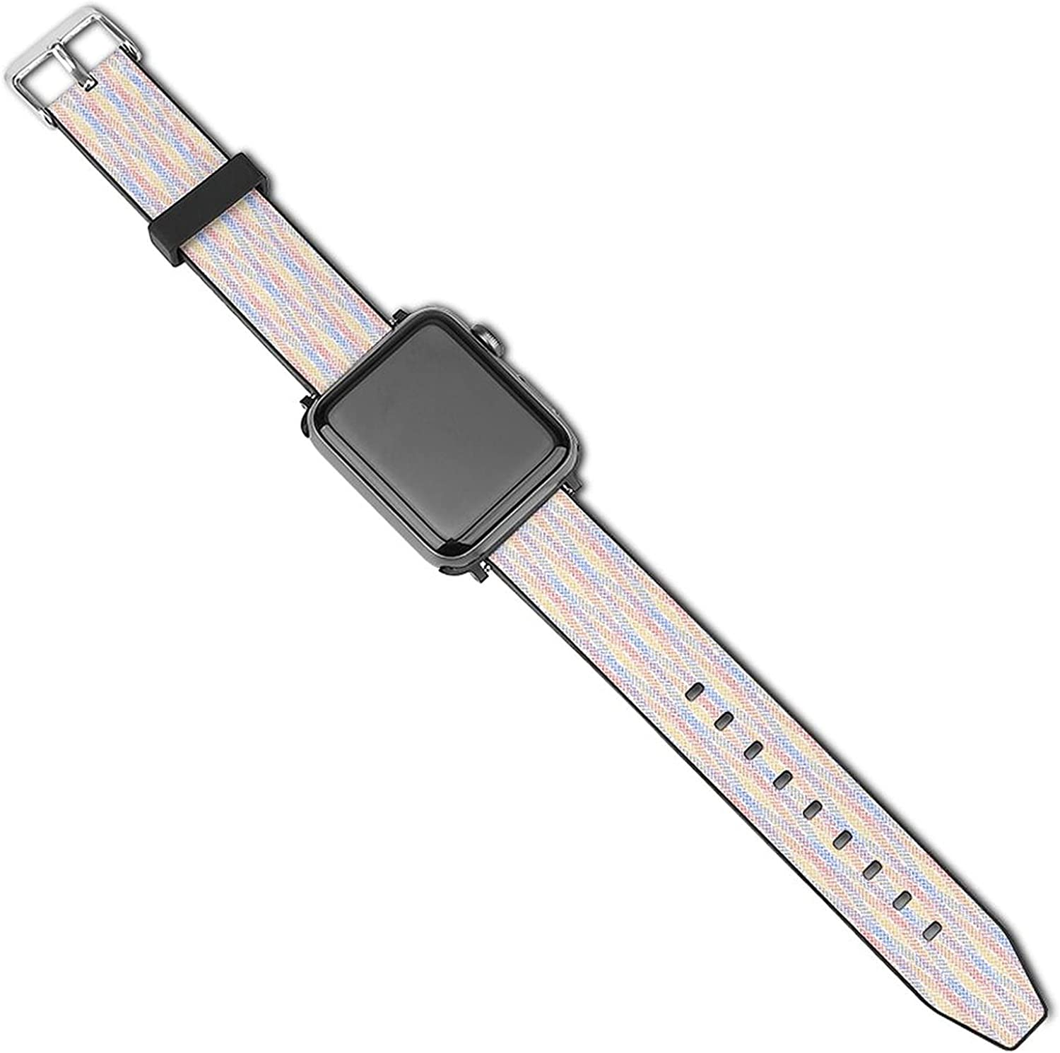 Many popular brands Grid Stripe Sport Band Compatible with Pop Cut Apple Bands Watch Popular standard