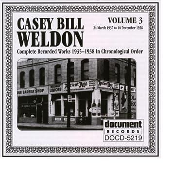 Casey Bill Weldon Vol. 3 1937-1938