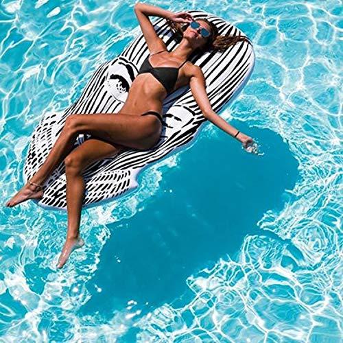 Riesen Pool Float Erwachsene Aufblasbare Gesicht Emoji Luftmatratze Schwimm Luftmatratze Sommer Schwimmen Wasser Boot Kickboard Strandmatte 180 cm