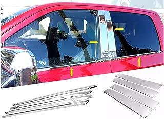 FOR 2019-2020 RAM 1500 CREW 4DR CHROME WINDOW SILL+SIDE MOLDING COMBO TRIM SET