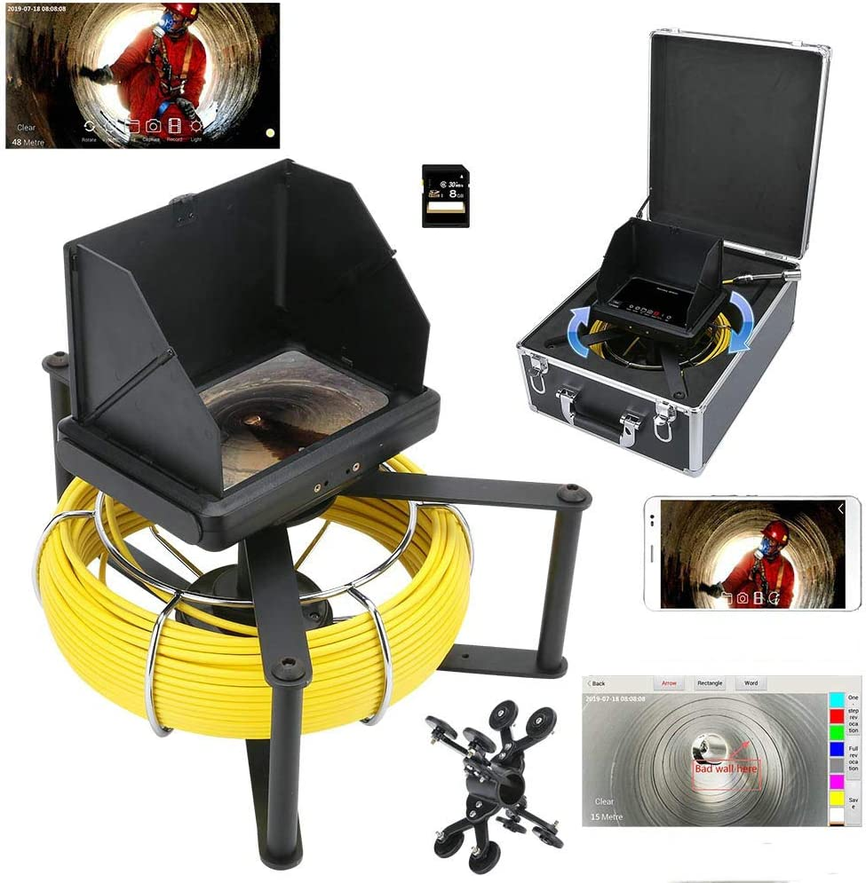 WIFI wireless Handheld Max 59% OFF Industrial Inspection Camera Ranking TOP14 Video Pipe