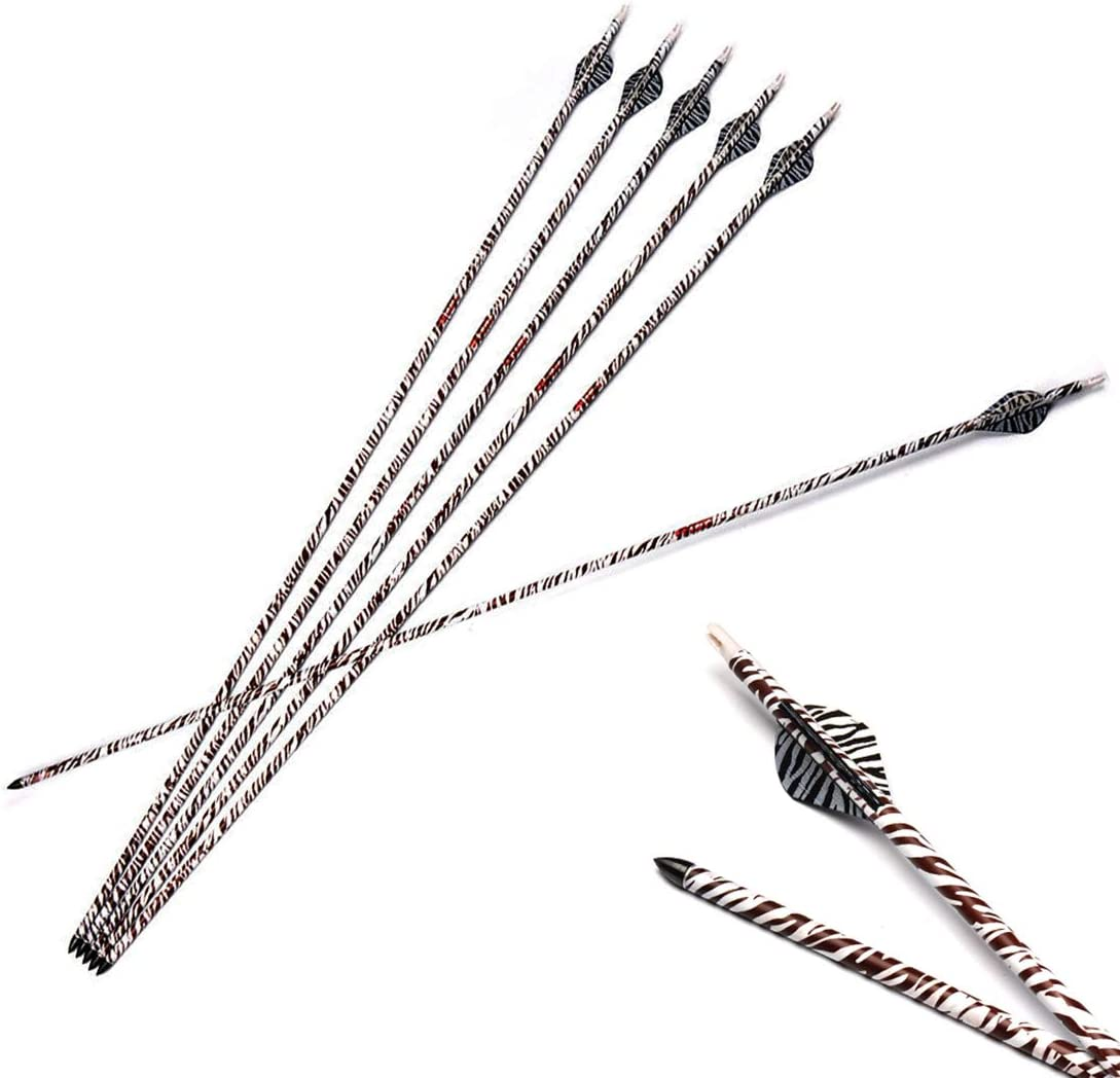 Linkboy Archery Carbon Arrows Max 80% OFF Target Superior Hunting Removable Practice