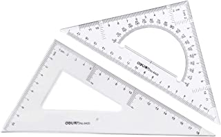 Large Triangle Ruler Square Set,Triangle Protractor,2 pieces