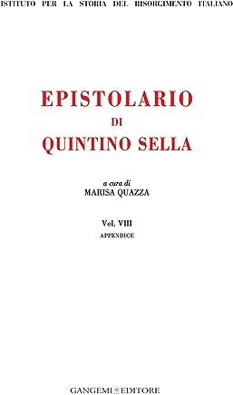 Epistolario di Quintino Sella: Appendice