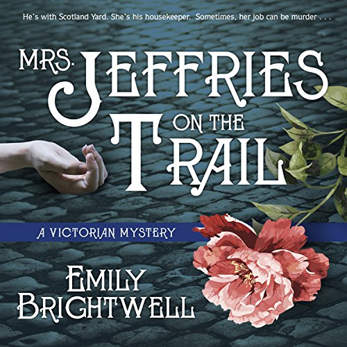 Mrs. Jeffries on the Trail audiobook cover art