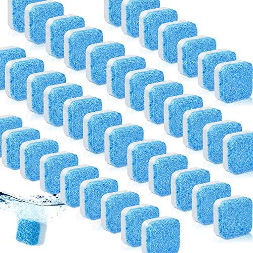40 Stück Massiv Waschmaschine Reiniger Brausetablette Waschmaschine Reiniger Intensivreinigung Remover mit Verdreifachen Dekontamination für Bad Zimmer Küche