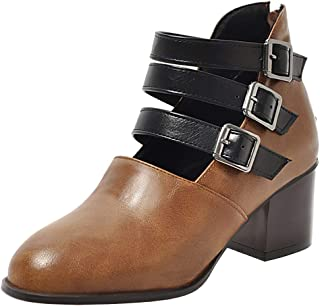 Melady Women Casual Shoes Square Heels