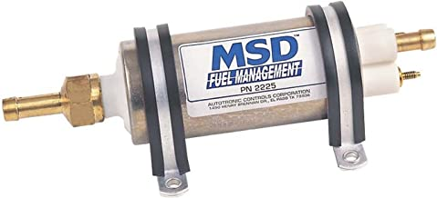 JDMSPEED New Universal High Flow /& Pressure External Inline 255LPH Fuel Pump GSL392