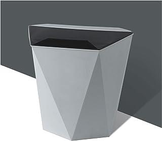 Poubelle Les ordures ménagères peuvent avec couvercle suspendue poubelle pour la porte d'armoire de cuisine Petite sous la...
