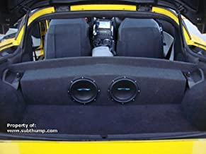 2005-2013 C6 Corvette Partition Subwoofer Box