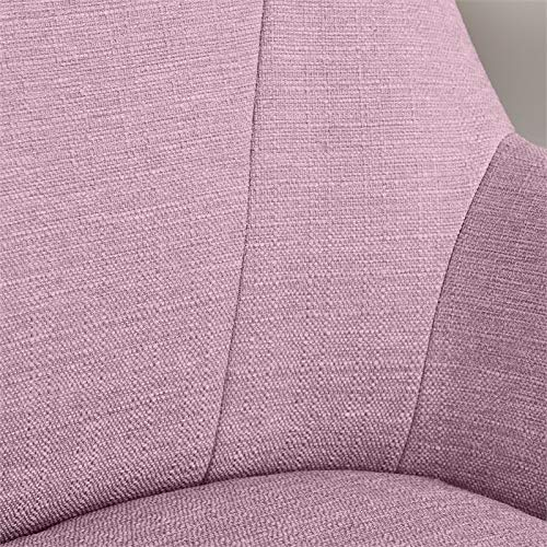 Serta Style Leighton Home Office Chair Twill Fabric Lilac Amazon Sg Home