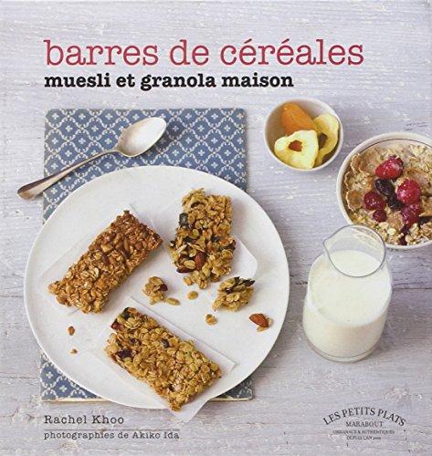 BARRES DE CEREALES MUESLI ET GRANOLA MAISON