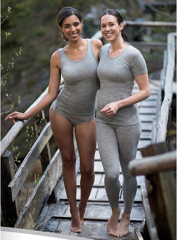 Women's Thermal Panties Briefs: Moisture Wicking Merino Wool Silk