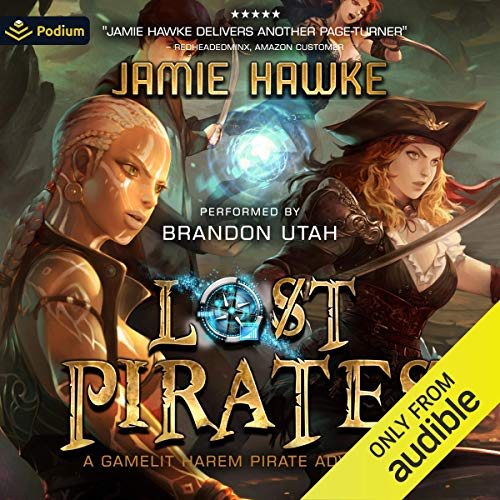 Lost Pirates Audiobook By Jamie Hawke cover art