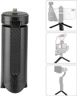 ULANZI Mini Trípode Portátil Plegable Soporte de sobremesa Soporte Flexible para Escritorio para Zhiyun Suave 4 dji OSMO Mobile 3 3 Ejes Mano Gimbal Mini Proyector Cámara (Negro)