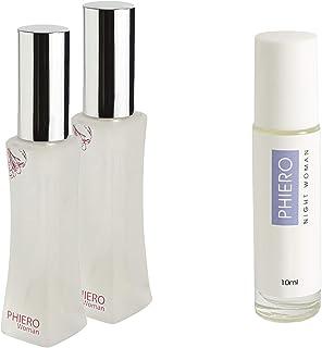 Feromonas - 2 Phiero Woman + 1 Phiero Night Woman: Perfumes con feromonas para mujer
