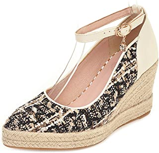Zanpa Women Classic Pumps Wedge High Heels