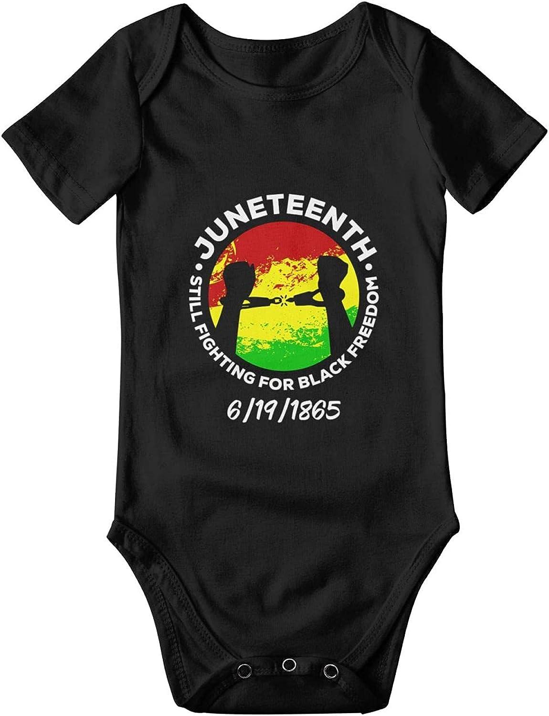 Max 68% OFF Juneteenth Still Fighting For Black Baby Sale SALE% OFF Onesie Short-Sl Freedom