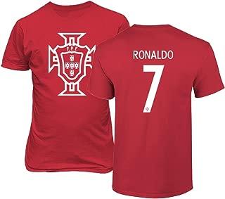 Tcamp Portugal 2018 National Soccer #7 Cristiano Ronaldo World Championship Men's T-Shirt