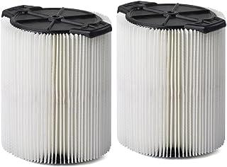 Multi-Fit Wet Dry Vac Filters VF7816TP Standard Wet Dry Vacuum Filters (2-Pack –..