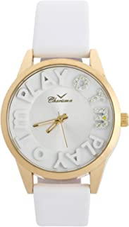 Charisma Casual Watch for WomenLeather B and, Analog, C6389