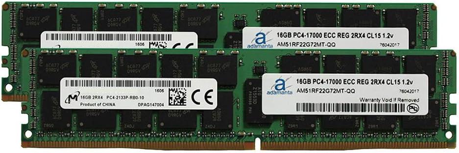 Adamanta 32GB 2x16GB Server service Ranking TOP20 Upgrade Compatible Compatib Memory