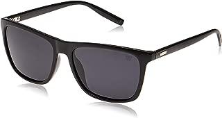 Winstonne Men's Square Sunglasses - WNPO1032, Black