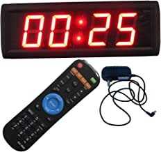 Ledgital Countdown Clock for Conference Countdown Timing Minutes Seconds Countdown Timer 12x4in. w/Remote Control
