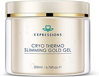 EXPRESSIONS Anti Cellulite Cream   Slimming Cream   Cellulite Massager   Fat Burner Cream, Firm Your Skin and Reduce The Appearance Of Cellulite 200 Milliliter / 6.76FL.OZ.E