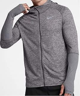 NIKE ナイキ フード付き 長袖ランニングシャツ エレメント フルジップ フーディ Element Full Zip Hoodie L(176-183)cm 国内正規品 928556 クールグレー