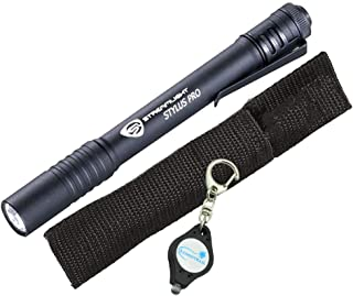 Streamlight Stylus Pro LED Penlight Bundle with a Holster and Lumintrail Keychain Light