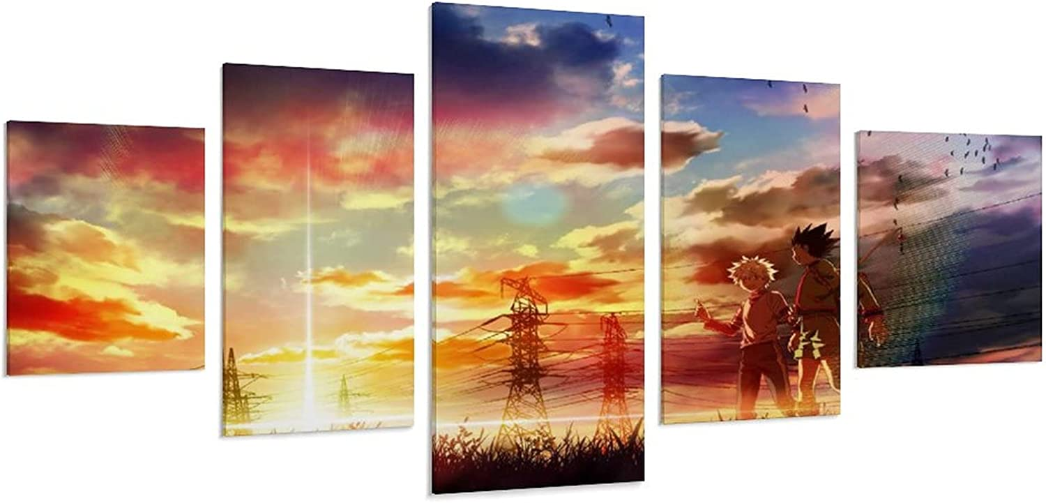 Anime Poster Hunting Mail order Wall Albuquerque Mall Decoration Living Room