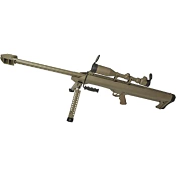 SNOW WOLF バレットM99 (対物ライフル) エアーコッキング FDE スコープ&バイポット付属