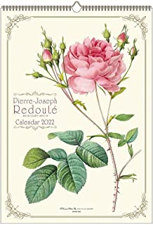 2022年 ルドゥーテカレンダー(壁掛け・ばらの香り付) 1000120101 vol.058