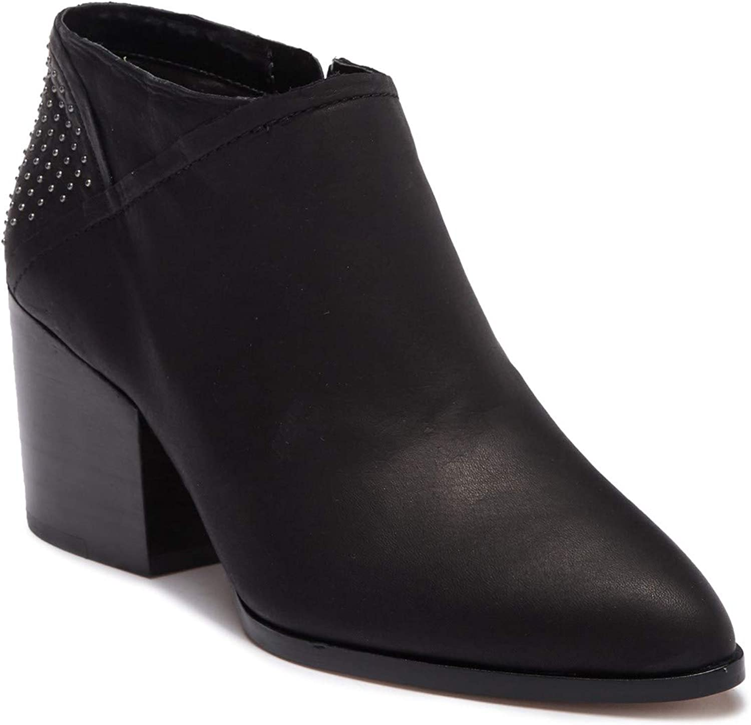 1.STATE Womens JELIN Leather Bootie Black