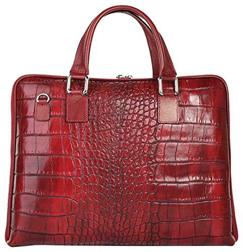Samantha Look Sacoche business Femme cuir véritable