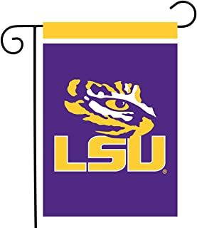 """Best Briarwood Lane LSU Fighting Tigers Garden Flag NCAA Licensed 12.5"""" x 18"""" Review"""