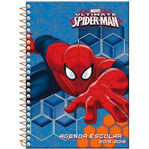 Agenda escolar Spider-man Marvel A5 2015-2016