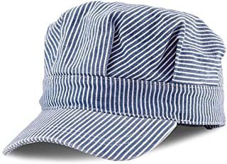 MC Classic Train Engineer Conductor`s Adjustable Cap - Child To Adult