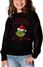 Pyer Inting The Grinch Dr Seuss Ugly Christmas Hoodies For Girls Kids Sweatshirt