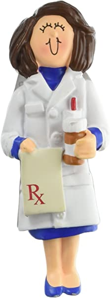 Ornament Central OC 085 FBR Female Pharmacist Figurine