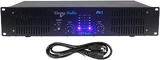 Torque Audio by Technical Pro AW1 1000 Watt 2-Channel DJ or Live Sound Rack Mount Power Amplifier