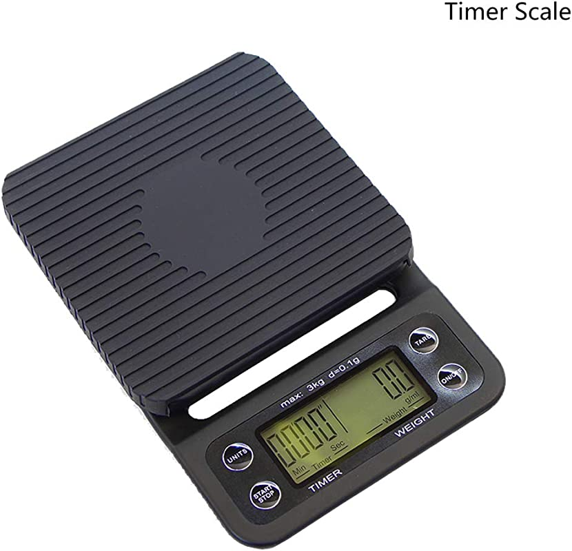 R G Accessories Digital Kitchen Scale Multifunction Food Scale With Silicone Mat Lb3kgs For Pour Over Coffee Cooking Baking Use